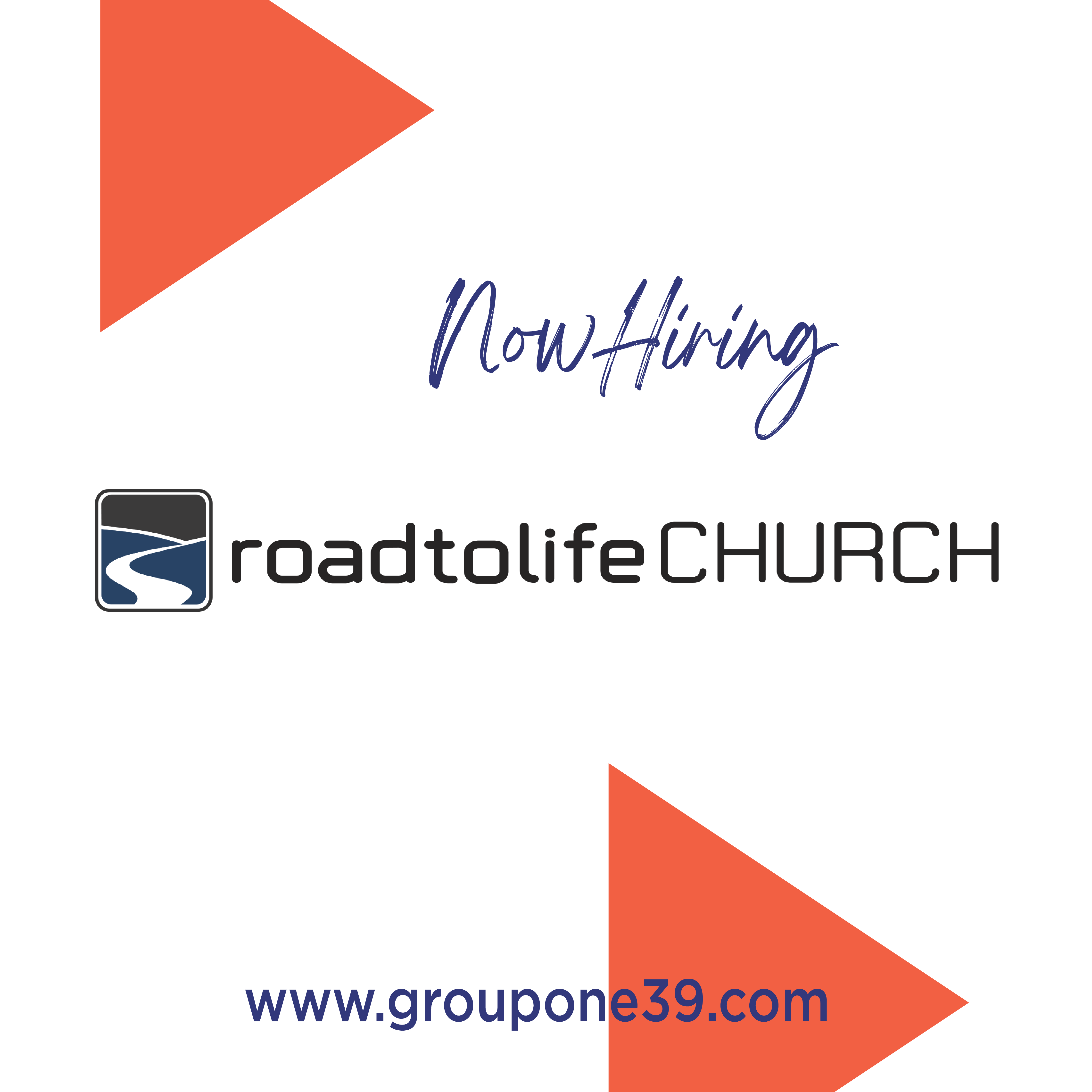 Campus Pastor:  Road To Life Church